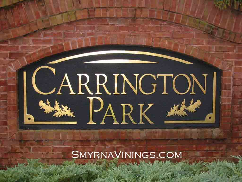 Carrington Park homes, Smyrna Homes, Vinings Homes, Smyrna Vinings Homes