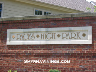 Paces High Park - Smyrna Vinings Homes
