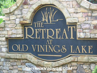 The Retreat at Old Vinings Lake - Smyrna Vinings Homes