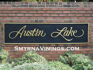 Austin Lake Homes in Smyrna