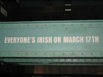 Where will you be for St. Patricks Day