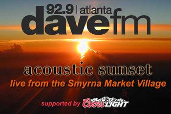 929 dave fm Acoustic Sunset