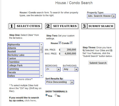 Home Search 201