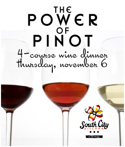 The Power of Pinot Wine Dinner