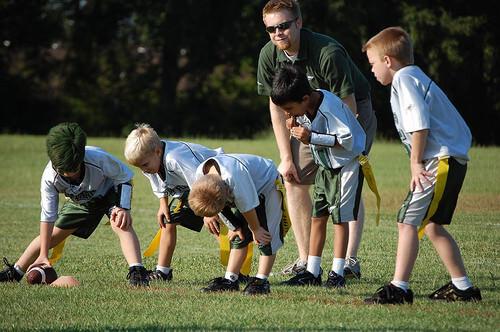 Upward Flag Football and Cheerleading Registration