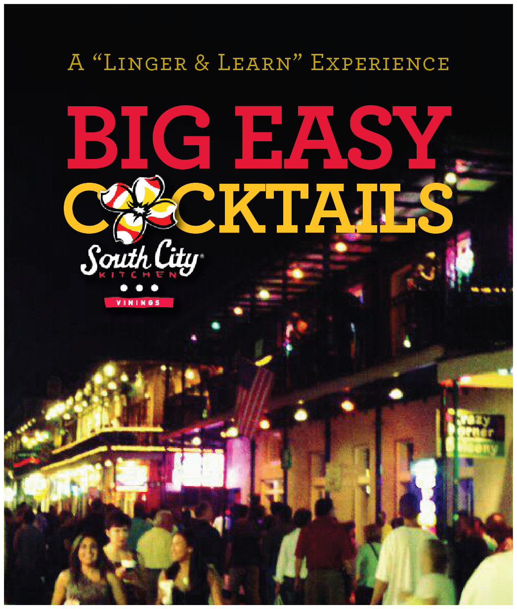 Linger & Learn – Big Easy Cocktails