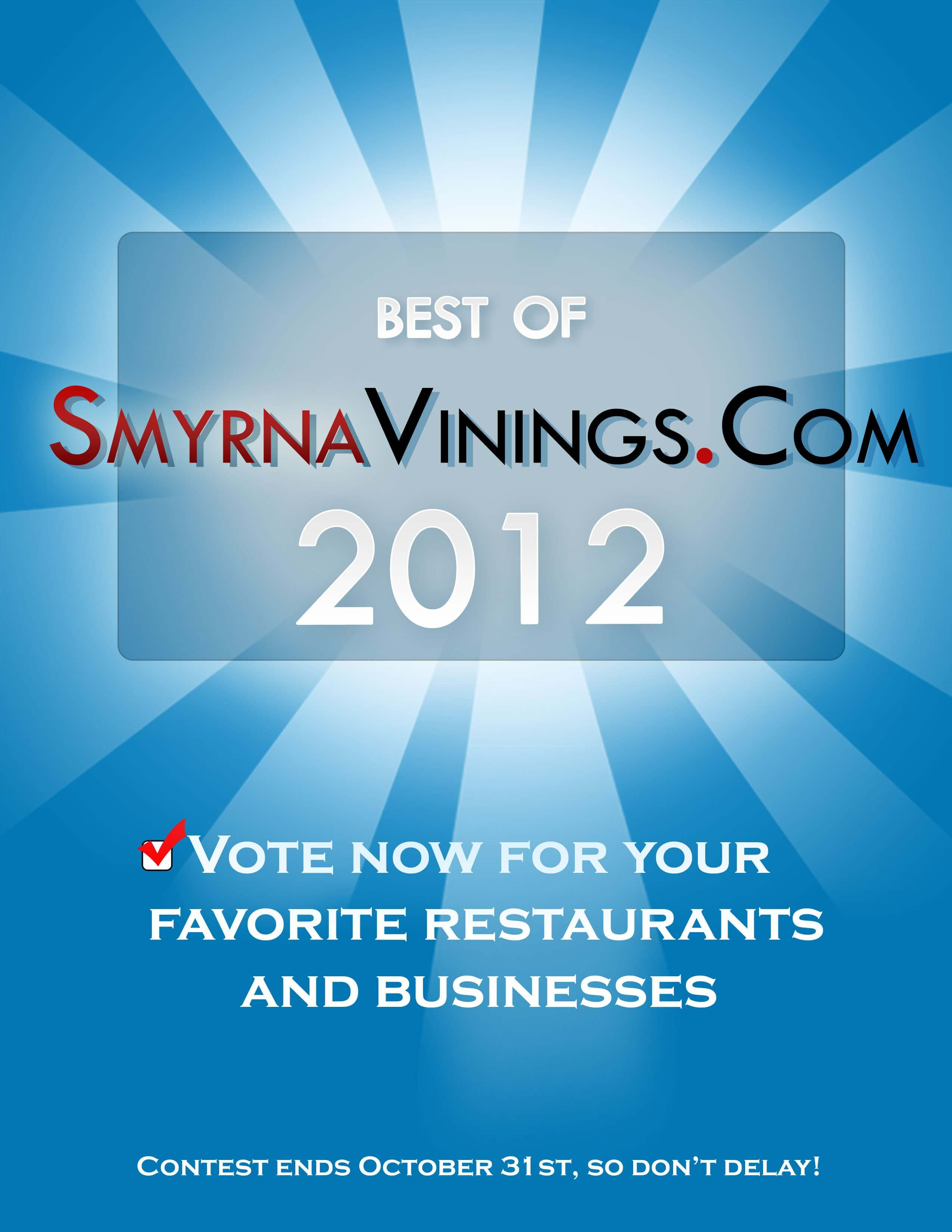 Best of Smyrna Vinings 2012