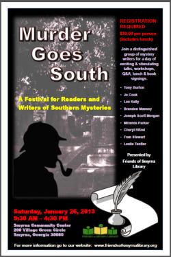 2013 Murder Goes South Festival