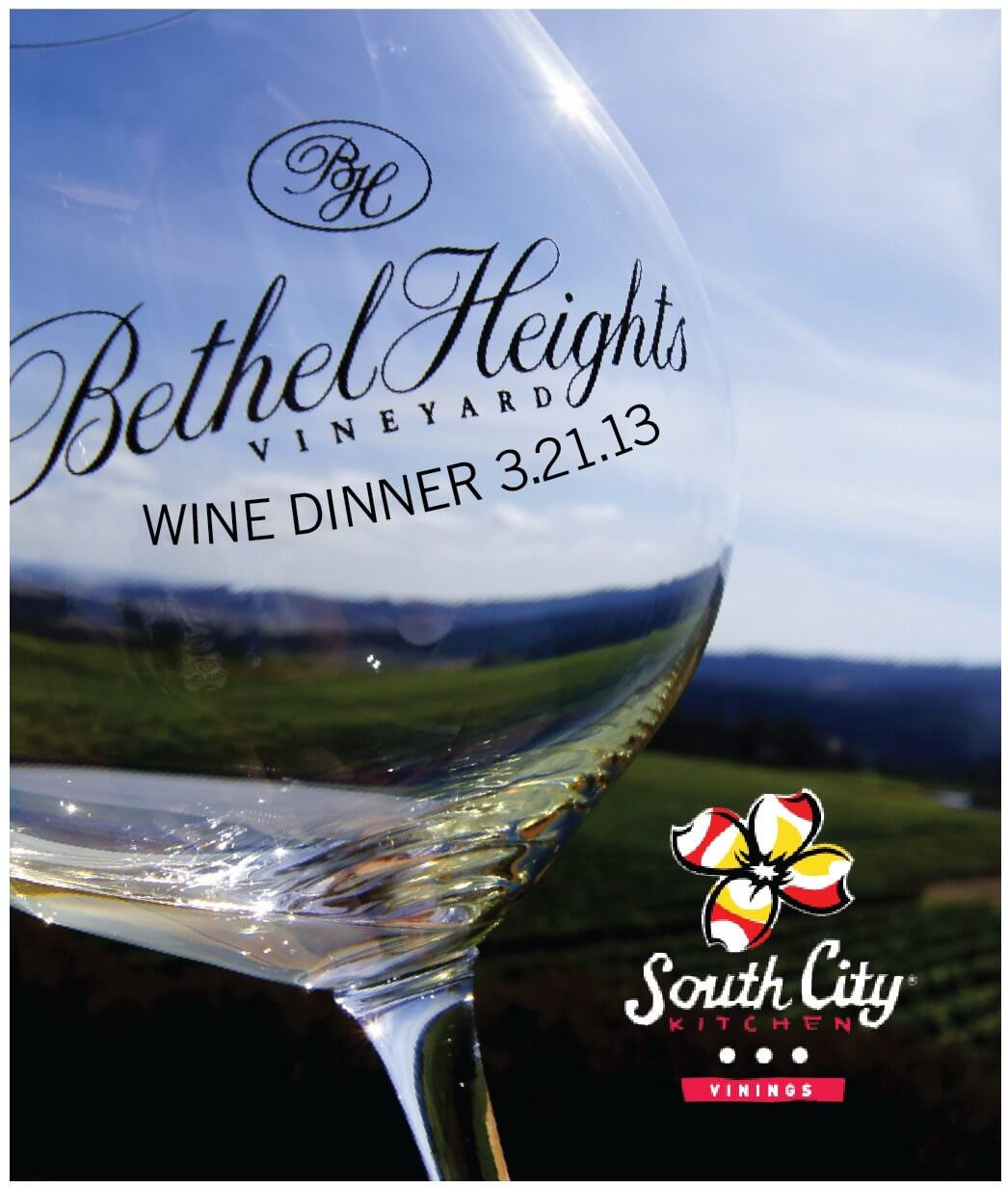 Bethel Heights Wine Dinner