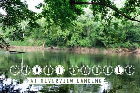 Chattahoochee River Paddle at Riverview Landing