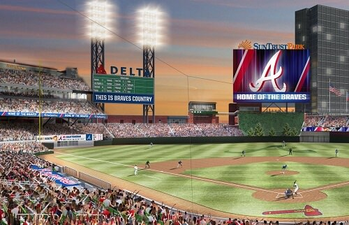 Cobb County Approves I-285 Bridge for Braves Stadium